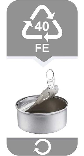puszki na konserwy oraz na napoje (także blacha stalowa ocynkowana)