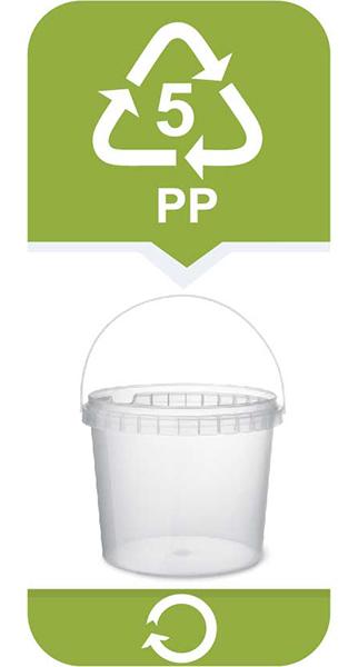 <strong>Polipropylen</strong><br/> • bezpieczny plastik nadający się do wielokrotnego użytku<br/> Często używany do produkcji opakowań do żywności. Zastosowanie ma również w produkcji rur, izolacji przewodów elektrycznych, płyt, profili, folii czy włókien. Materiał 05 PP razem z 02 HDPE uznawany jest za najbezpieczniejszy dla naszego zdrowia.